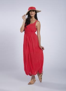 "Dress ""PHOEBE"" Mouli 100% cotton"