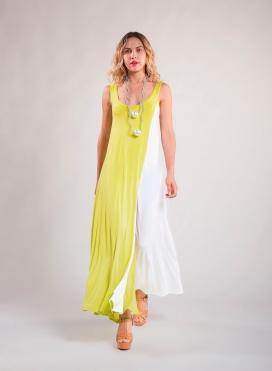 """Dress """"POP"""" Maxi 50/50 elastic"""