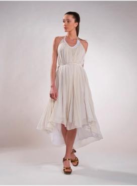 """Dress """"Tiranta"""" Satin/Chiffon"""