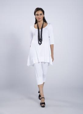 Blouse ''Aria'' 3/4 sleeves elastic