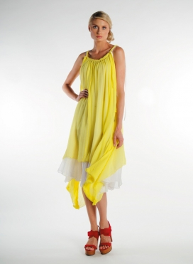 """Dress """"Tirana mytes"""" chiffon"""