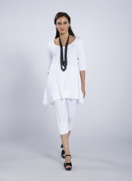 Blouse ''Aria'' 3/4 sleeve elastic