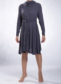 Dress Semizie midi wool/viscose