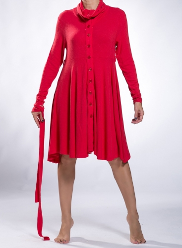 Dress Semizie midi wool/viscose