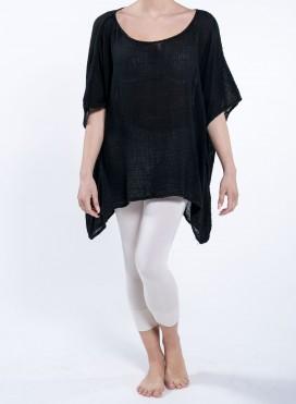 Μπλούζα Τετράγωνη Short Μούλι 100% βαμβακερό