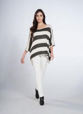 Pants Cigarette Wool/Viscose