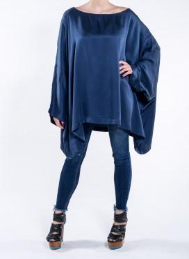 Blouse 4 Sleeves Long Silk
