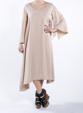 Φόρεμα V Butterfly tencel