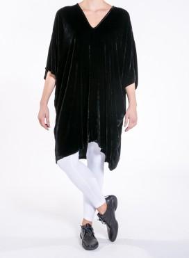 Blouse trigono velvet silk