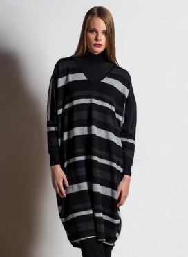 Φόρεμα V τετράγωνο A232