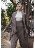 Soft knitted viscose long sleeve Cardigan
