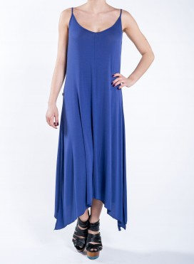 Dress tiranta skisimo maxi derti