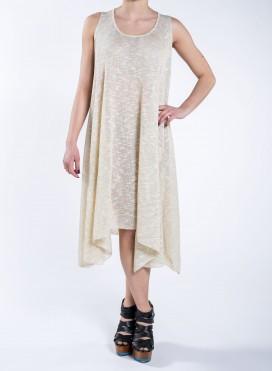 Φόρεμα Μύτες χωρίς μανίκι Knit Lurex