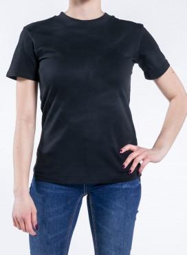 Blouse W Organic Blouse Rib T-shirt