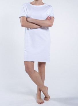 Dress W Raglan Short Sleeve Organic