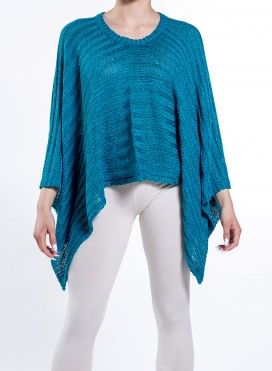 Τοπ Ποντσο Knit