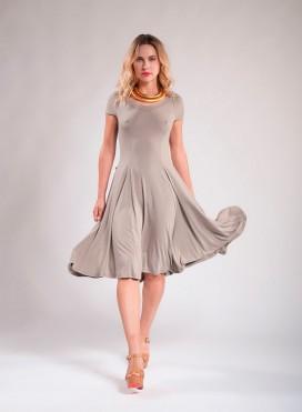 Dress Camelia midi elastic