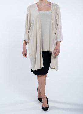 Blouse Kimono Short Lurex