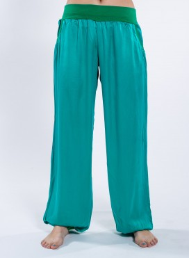 Pants Smooth Satin 100% Silk