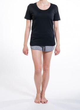 Μπλούζα W Wide Round Neck T-Shirt Organic