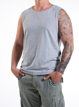 Blouse M Sleeveless T-Shirt Organic