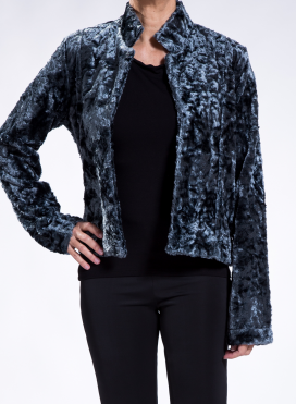 Jacket Fur Synthetic