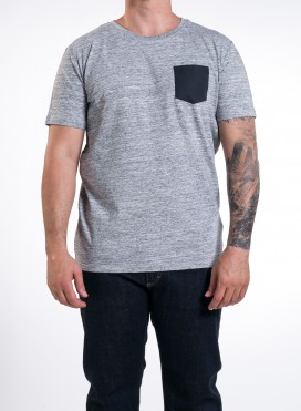 Slub Heather Grey, Black