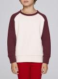 Blouse Kid Raglan Crewneck Sweatshirt Organic