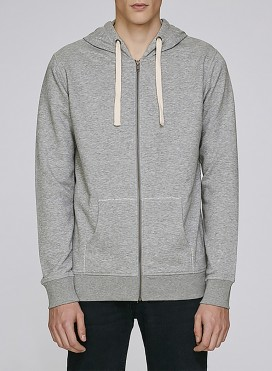 Jacket M Zipped Hoody Organic