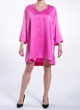 """Φορεμα """"Alpha"""" Longsleeve 100%Silk"""