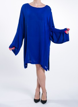 Tunic Crepe Blue Royal