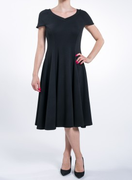 Dress Princess Crepe Black