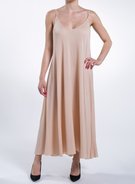 Dress Asymmetric Tiranta Nude