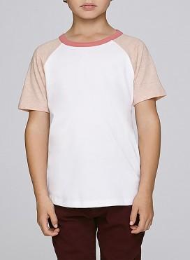 Μπλούζα Kid Raglan Contrast Short Sleeve Organic