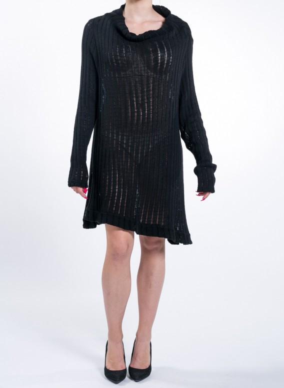 Μπλουζα Knitted Fit Black