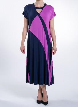 Φορεμα Patchwork Elastic