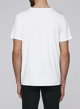 Grey Denim, White