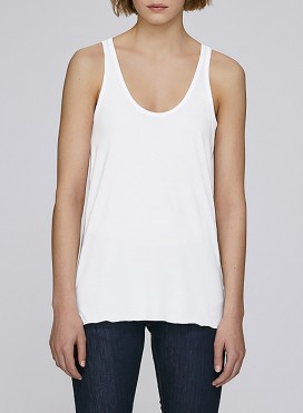 Tank Top W Flowly Racerback Tencel/Organic Cotton