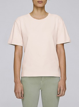 Blouse W Boxy Relaxed T-Shirt