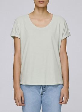 Μπλούζα W Slub Loose Tee Shirt Organic
