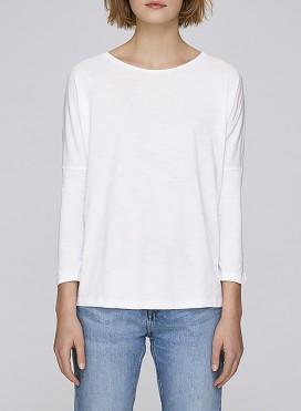 Μπλούζα W Drop Shoulder Long Sleeve Organic