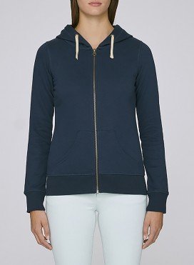 Jacket W Zipped Hoody Organic