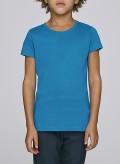 Blouse Girl Round Neck T-Shirt Organic