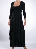 Dress Bottle long sleeve wool/viscose