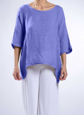 Blouse Fifty-Fifty 100% Linen Gauze