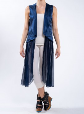 Vest 100% Silk