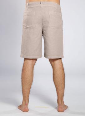 Βερμούδα 4 pockets λινό/cotton