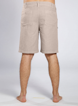 Short pants 4 pockets linen/cotton