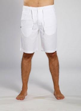 Short Pants 4 Pockets Linen/Cotton