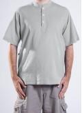 Μπλούζα 3 κουμπιά Μάο 100% βαμβακερό